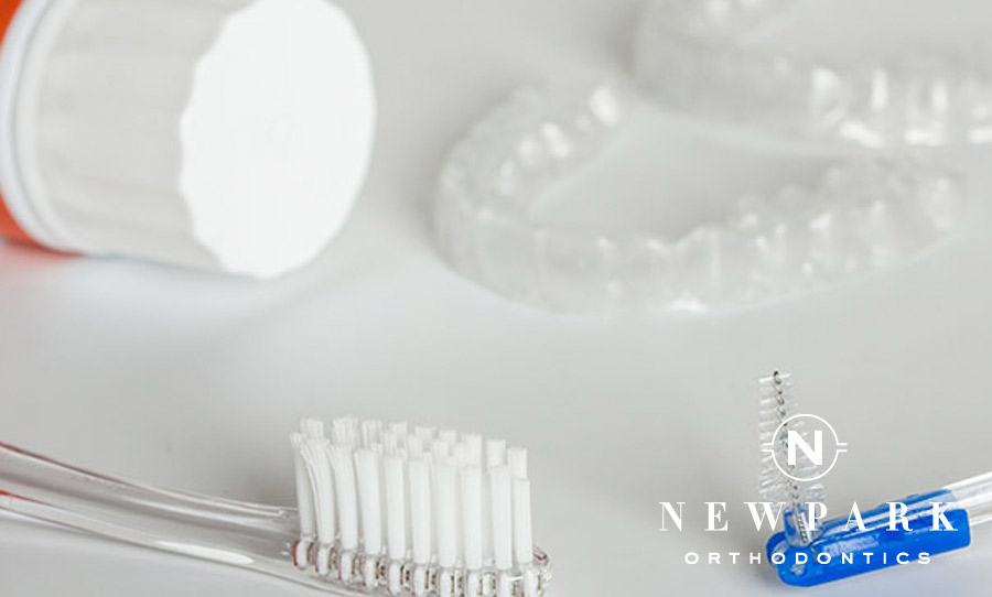 Invisalign cleaning supplies - Newpark Orthodontics